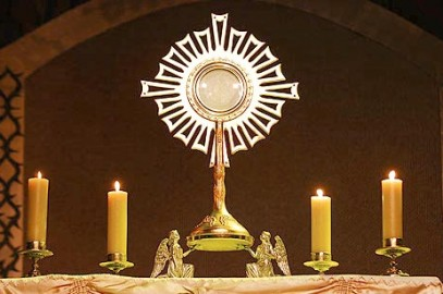 Adoration of the Blessed Sacrament – St.Mary's Banff