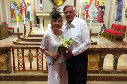 Congratulation to parishioners Delores and Lorne Carroll