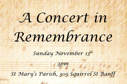 Remembrance Day Concert at St.Mary's