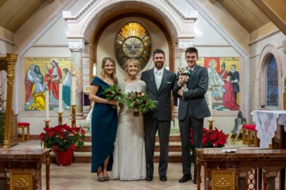 Congratulations to Monique & Aaron Bizon, Married on December 20, 2019